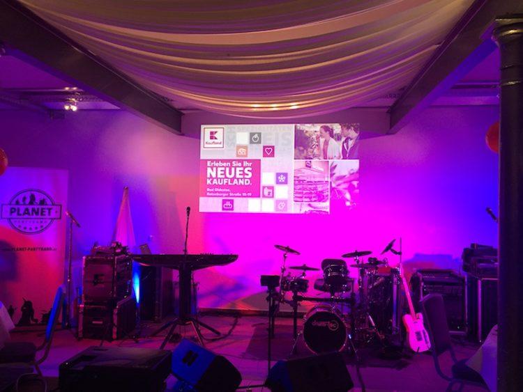 planet partyband live f r kaufland live tagebuch blog. Black Bedroom Furniture Sets. Home Design Ideas