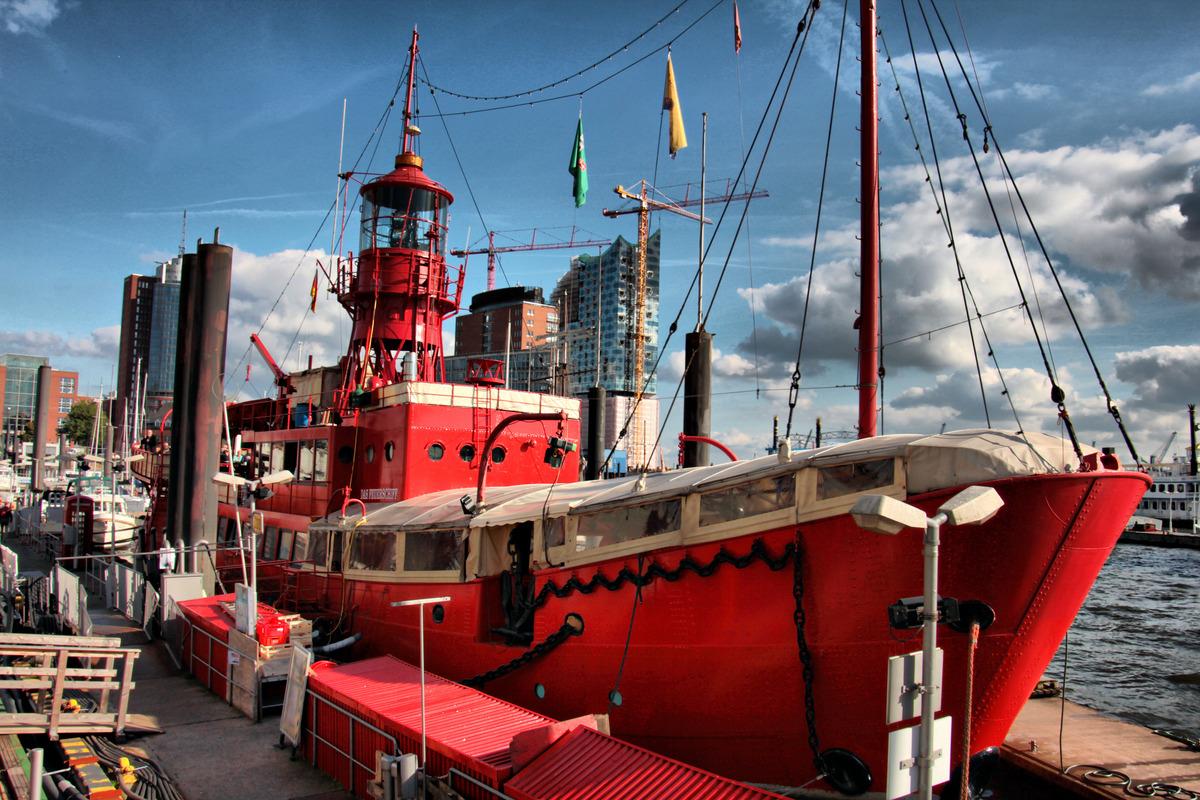 Geburtstagsfeier im Feuerschiff Hamburg