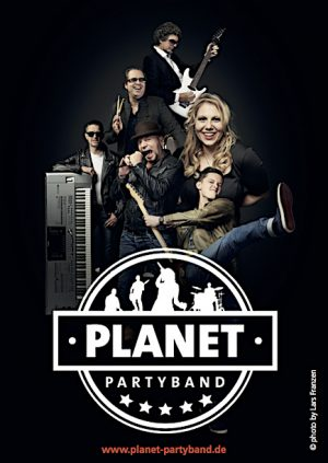 PLANET Partyband - neues Werbematerial